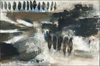 Cornelia-Hauch-Diverse-Landschaften-Abstraktes-Moderne-Abstrakte-Kunst