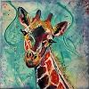 Cécile Banz, Freude, Tiere: Land, Colour Field Painting
