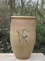 M. Geister, Vase, Topf, Keramik