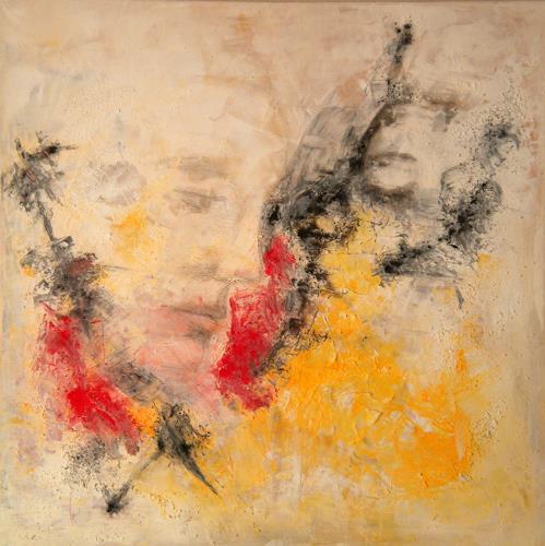 Claudia Neusch, 6 Faces, Menschen: Gesichter, Abstraktes, Pop-Art
