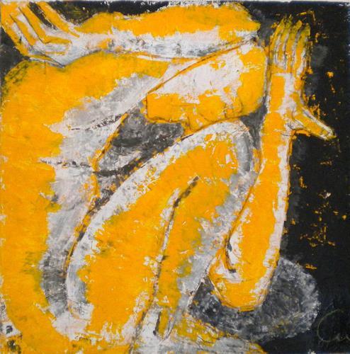 Claudia Neusch, Ruhe, Abstraktes, Akt/Erotik: Akt Mann, Gegenwartskunst