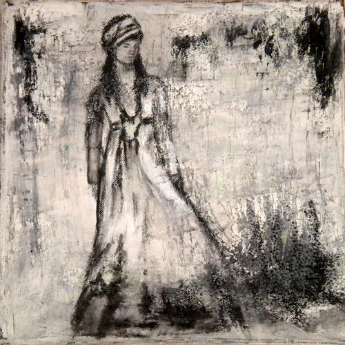 Claudia Neusch, Savanna, Menschen: Frau, Abstraktes, Gegenwartskunst