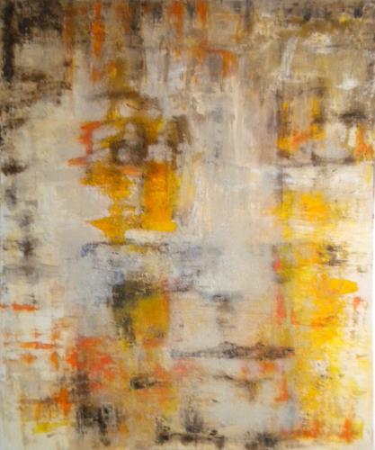 Claudia Neusch, Unsichtbar, Menschen: Gesichter, Abstraktes, Abstrakte Kunst
