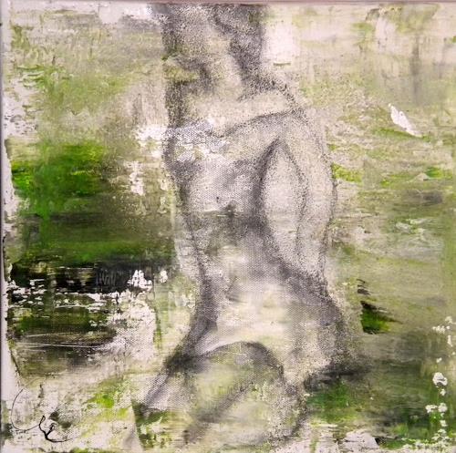 Claudia Neusch, O/T, Menschen, Fantasie, Gegenwartskunst, Expressionismus