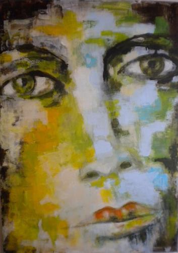 Claudia Neusch, O/T, Menschen, Fantasie, Gegenwartskunst