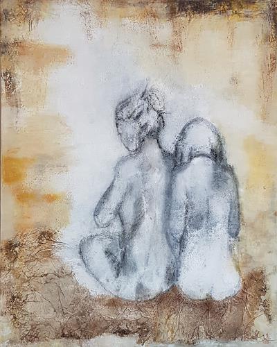 Claudia Neusch, O/T, Menschen, Akt/Erotik, Abstrakte Kunst