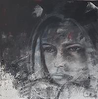 Claudia-Neusch-Menschen-Frau-Menschen-Gesichter-Moderne-Abstrakte-Kunst