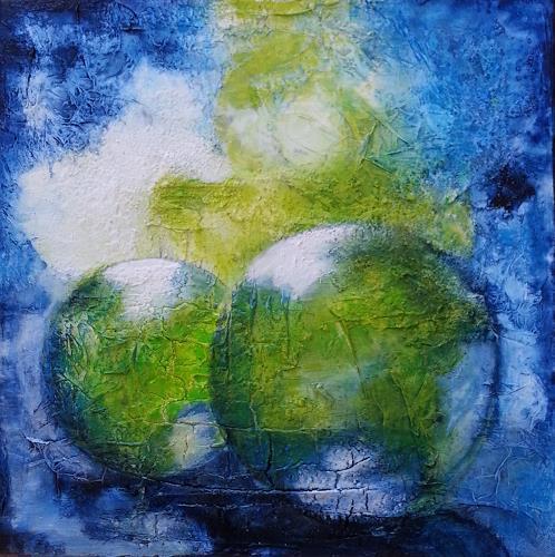 Claudia Neusch, O/T, Abstraktes, Dekoratives, Abstrakte Kunst, Expressionismus