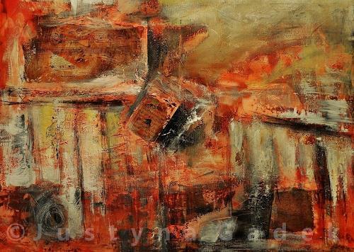 Justyna Gadek, Melodie II, Diverses, Abstraktes, Gegenwartskunst