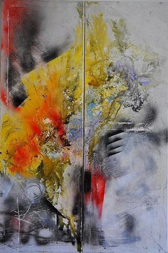 Justyna Gadek, Meet Me Halfway, Diverses, Abstraktes, Gegenwartskunst