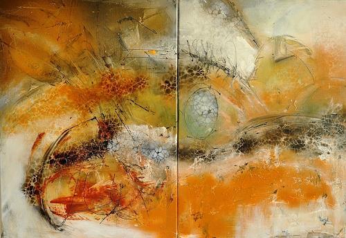 Justyna Gadek, O/T, Diverses, Abstraktes, Gegenwartskunst, Expressionismus