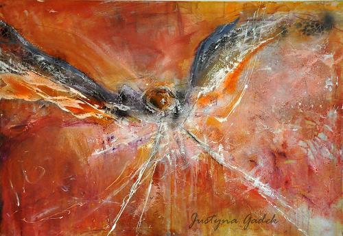 Justyna Gadek, Flightless bird, Abstraktes, Diverses, Gegenwartskunst