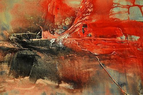 Justyna Gadek, Always there, Abstraktes, Diverses, Gegenwartskunst, Expressionismus
