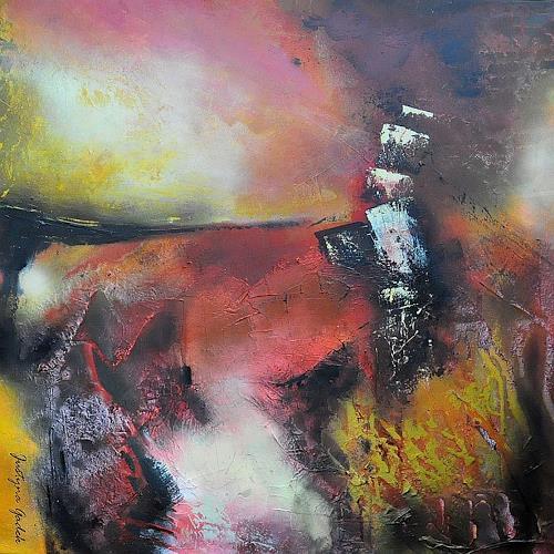Justyna Gadek, O/T, Abstraktes, Diverses, Gegenwartskunst, Abstrakter Expressionismus