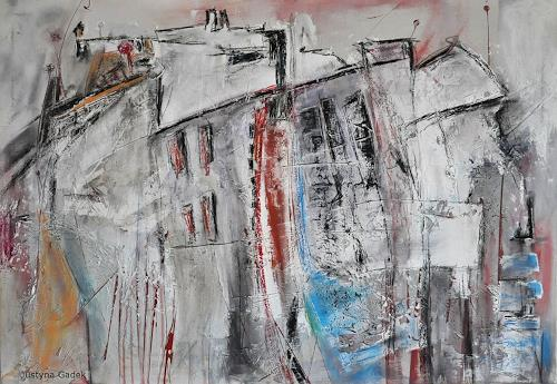 Justyna Gadek, O/T, Abstraktes, Diverse Bauten, Gegenwartskunst
