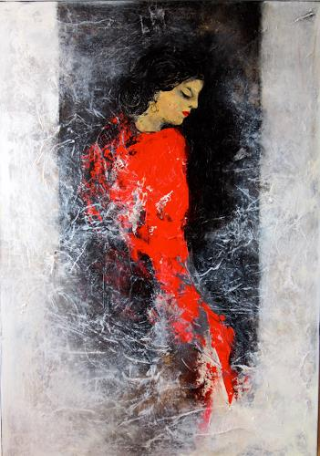 Rose Lamparter, Carmen, Abstraktes, Menschen: Frau, Abstrakte Kunst