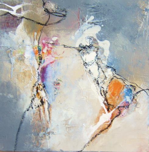 Rose Lamparter, 0.T., Abstraktes, Abstraktes, Gegenwartskunst, Expressionismus