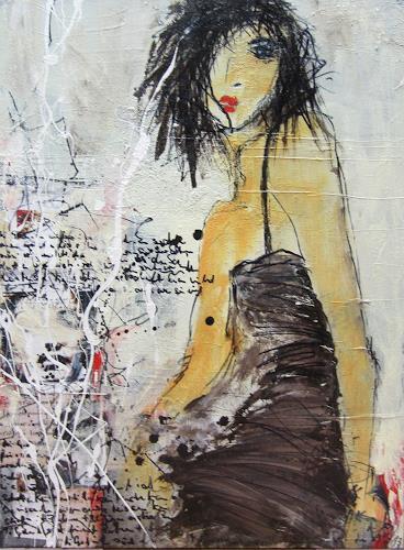 Rose Lamparter, ohne Titel, Abstraktes, Gegenwartskunst, Expressionismus