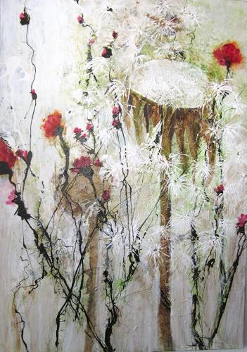 Rose Lamparter, Wiese, Pflanzen: Blumen, Abstraktes, Moderne, Expressionismus