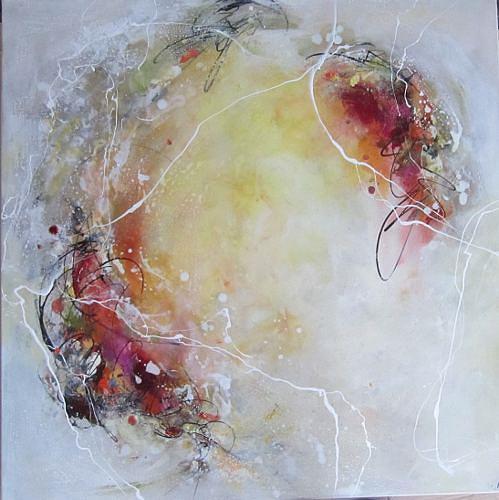 Rose Lamparter, o.T., Abstraktes, Gegenwartskunst