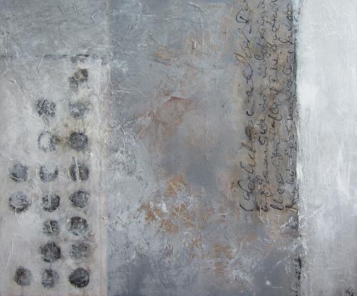 Rose Lamparter, Schriftlich, Abstraktes, Gegenwartskunst