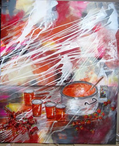 Rose Lamparter, Küche 2, Abstraktes, Abstrakte Kunst
