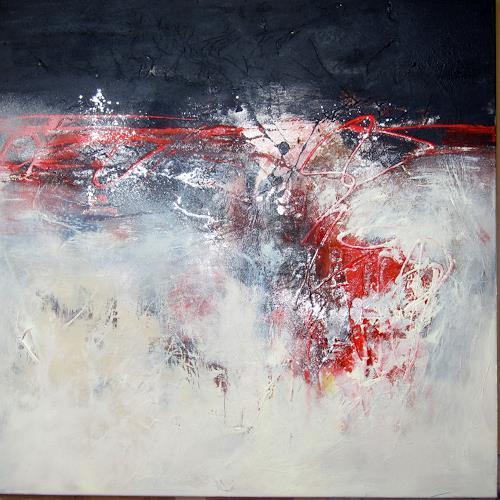 Rose Lamparter, ohne Titel, Abstraktes, Abstrakte Kunst, Expressionismus