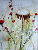 Rose Lamparter, Pusteblume 1, Abstraktes, Abstrakte Kunst