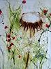Rose Lamparter, Pusteblume /Wiese, Abstraktes, Abstrakte Kunst