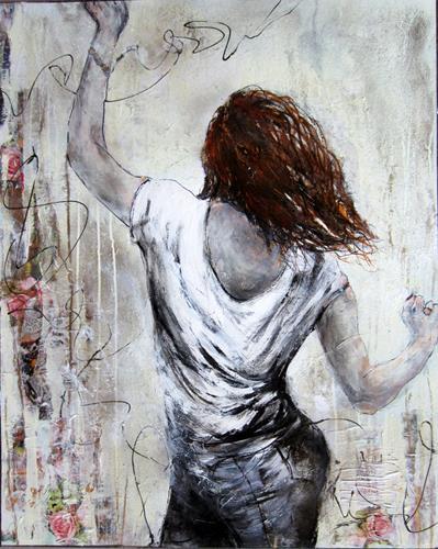 Rose Lamparter, Tanz, Menschen, Abstrakte Kunst, Abstrakter Expressionismus