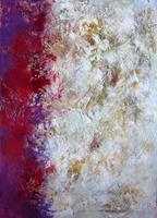 Rose Lamparter, lila/beige