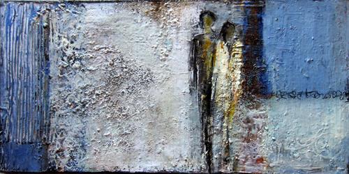 Rose Lamparter, Paar, Abstraktes, Abstrakte Kunst