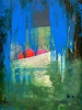 Roswitha Klotz, Overpainted Picture - Untitled