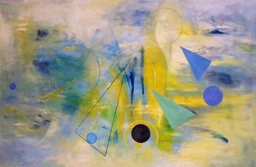 Roswitha Klotz, Gambling in heaven 70/33, Abstraktes, Diverse Musik, Abstrakte Kunst