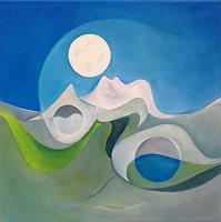 Roswitha-Klotz-Romantik-Abstraktes-Gegenwartskunst-Postsurrealismus