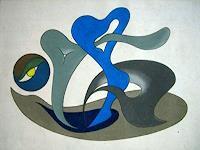 Roswitha-Klotz-Abstraktes-Skurril-Gegenwartskunst-Postsurrealismus