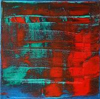 Roswitha Klotz, Red on Blue 70/52