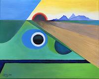 Roswitha-Klotz-Landschaft-Diverse-Gefuehle-Moderne-Naive-Kunst