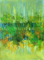 Roswitha-Klotz-Natur-Abstraktes-Moderne-Abstrakte-Kunst-Informel