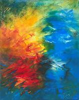 Roswitha-Klotz-Abstraktes-Fantasie-Moderne-Abstrakte-Kunst