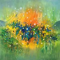 Roswitha-Klotz-Landschaft-Natur-Moderne-Abstrakte-Kunst-Informel