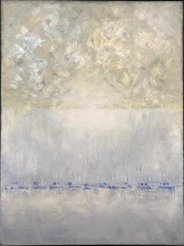 Roswitha Klotz, Untitled 13042020, Abstraktes, Poesie, Colour Field Painting, Expressionismus