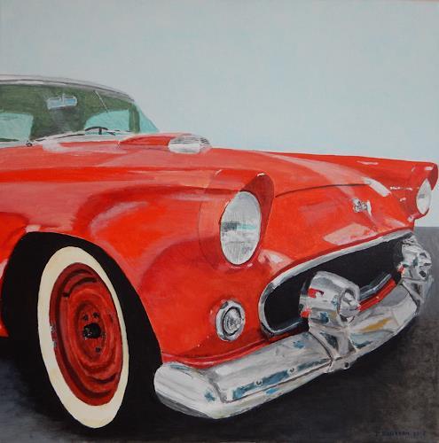 Reto Brüesch, Ford Thunderbird, Verkehr, Realismus