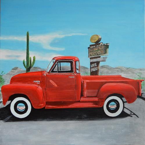 Reto Brüesch, Chevrolet Pick-up, Technik, Realismus
