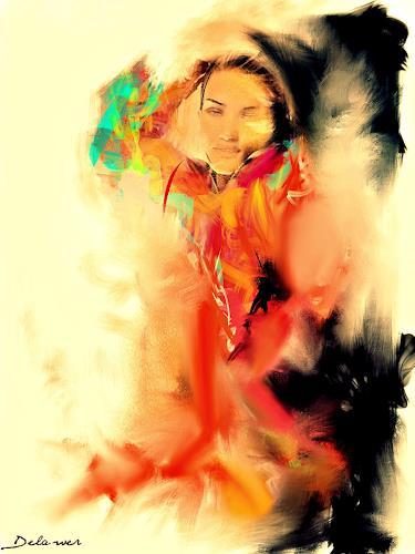 Delawer Omar, beauty of the soul, Abstraktes