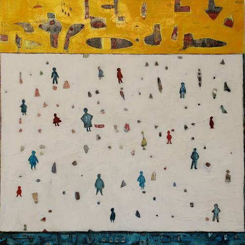 Doris Kummer, unterwegs, Diverse Menschen, Gegenwartskunst, Expressionismus