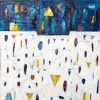 Doris Kummer, Spuren blau