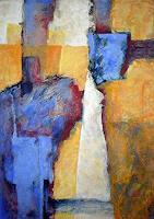 Gabriele-Schmalfeldt-Abstraktes-Diverse-Menschen-Moderne-Expressionismus-Abstrakter-Expressionismus