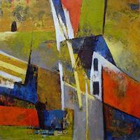 Gabriele-Schmalfeldt-Abstraktes-Diverse-Wohnen-Moderne-Expressionismus-Abstrakter-Expressionismus