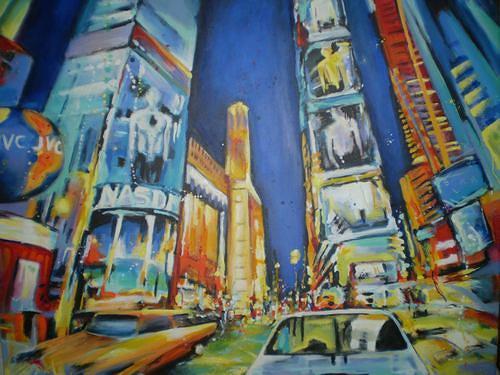 Gabriele Schmalfeldt, N.Y.C. 1, Wohnen: Stadt, Diverse Bauten, Gegenwartskunst